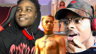 HE SOUNDS JUST LIKE HIM! | XXXTENTACION Voice TROLLING on FORTNITE! | Reaction