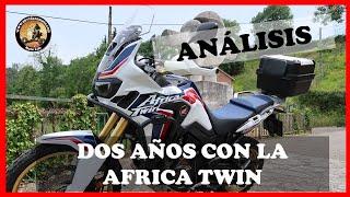 DOS AÑOS CON LA AFRICA TWIN