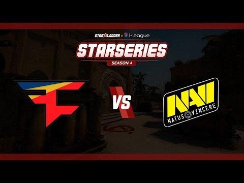 StarSeries i-League S4 - FaZe vs. Na'Vi (Mapa 3 - Mirage) - Narração PT-BR