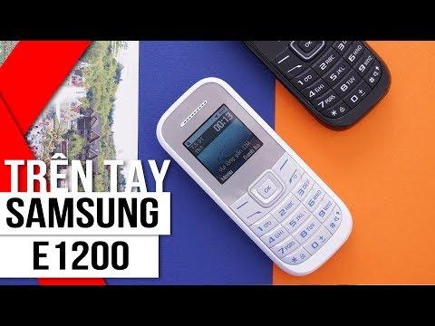 FPT Shop - Trên tay Samsung E1200: bền bỉ không thể chối từ