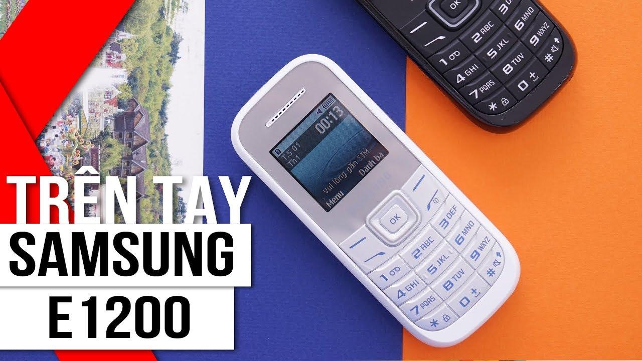 FPT Shop – Trên tay Samsung E1200: bền bỉ không thể chối từ