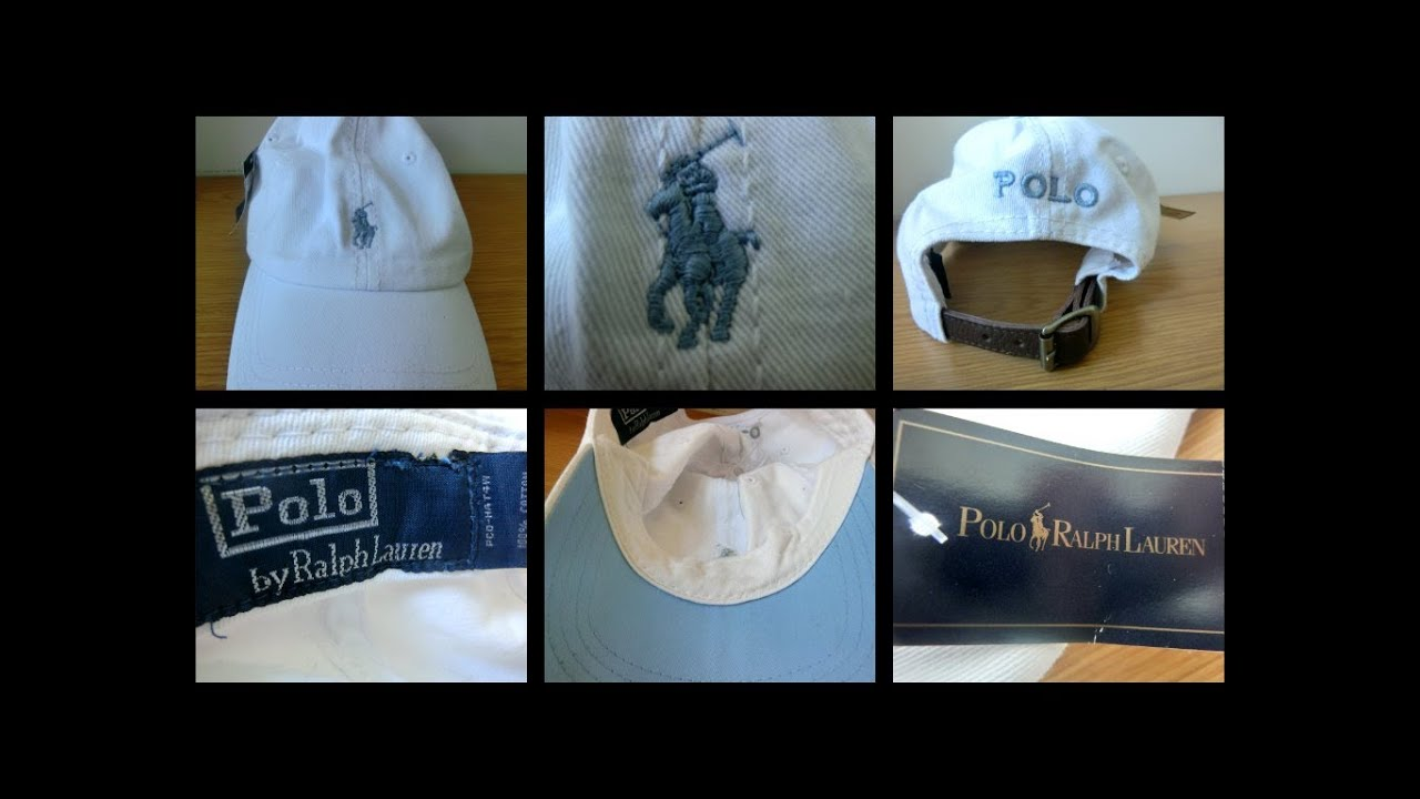 086d6de1 Unboxing] Fake Ralph Lauren Polo Cap - YouTube