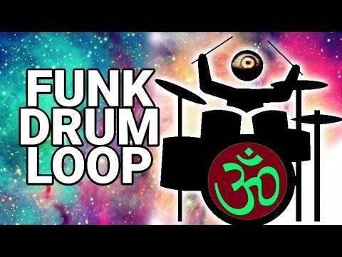 Free FUNK DRUM LOOP 90 bpm