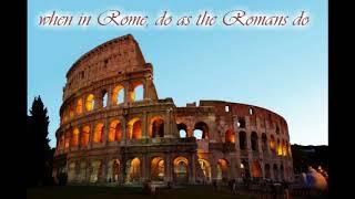 Oli Julian When In Rome