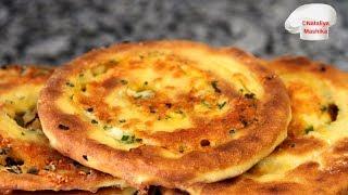 Улетают вмиг! Невероятно вкусные лепешки-улитки с сыром, чесночным маслом и зеленым луком