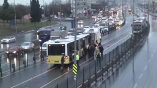 İstanbul Küçükçekmece Metrobüs Kazası Yaralılar