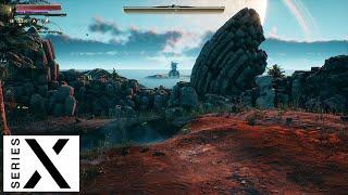 아웃터 월드 초반 플레이 | Xbox Series X …
