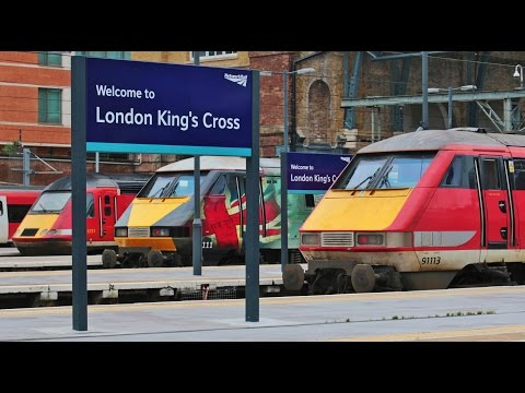 All Trains in the Biggest Stations in London - British Rail Power !
