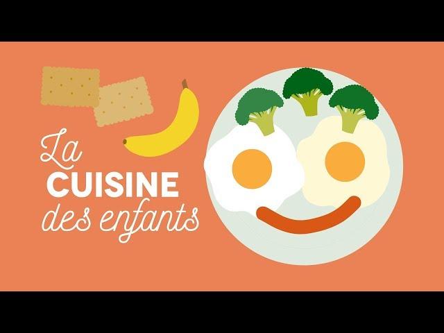 La cuisine des enfants - Les Carnets de Julie