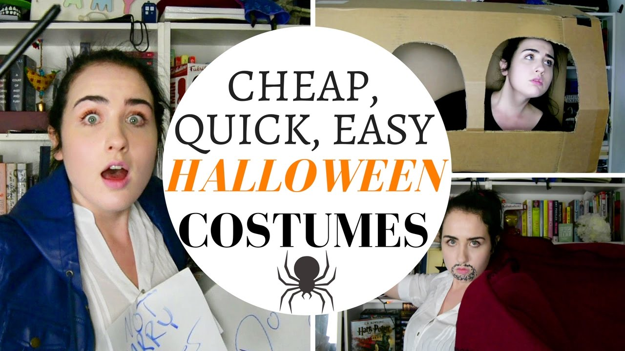 QUICK, CHEAP, EASY, DIY POP CULTURE COSTUMES || AMARIEBYTHESEA ...