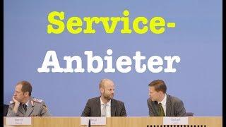 4. September 2017 - Komplette Bundespressekonferenz