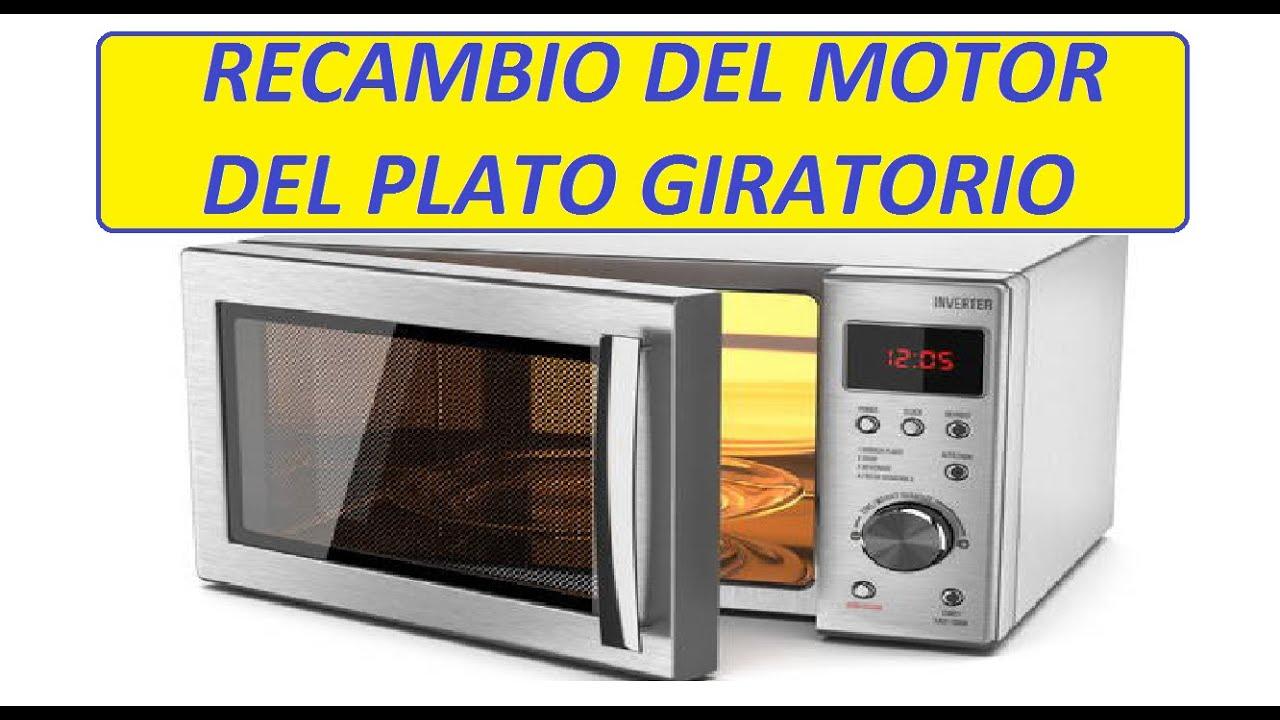 Microondas Cambio Del Motor Del Plato Giratorio Youtube