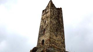 Башня Хестановых в Донисаре Северная Осетия-Алания