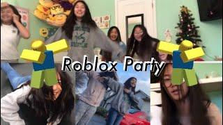 Roblox Party Vlog! 11/23/18 | AdrianaMT503