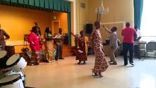 Satan Tu Es Vaincu - Groupe Psaumes 150 | MFCI Church Culte du 02 Août 2015