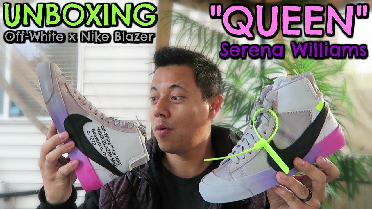 4b156748ea4c UNBOXING  Off-White x Nike Blazer