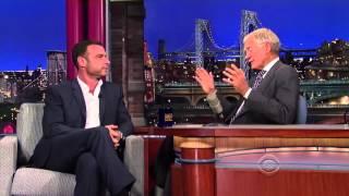 Liev Schreiber  David Letterman Interview