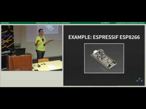 Hardy Erlinger - Programming the Web of Things with Python and MicroPython