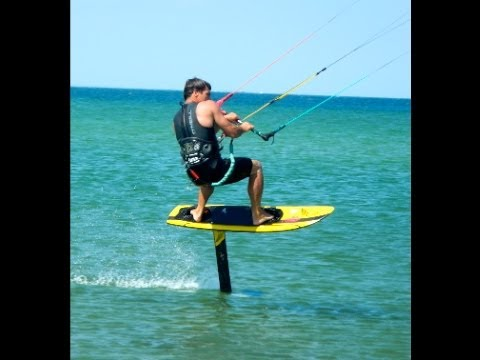 Brock Callen Hydrofoiling Kiteboard Youtube