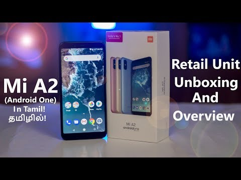 Mi A2 Retail Unit (Android One) Unboxing...