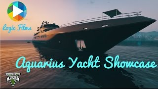 Aquarius Yacht Showcase (GTA 5 Rockstar Editor)