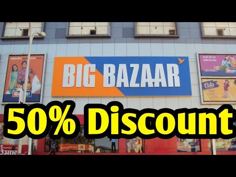 Big Bazar 50% Discount On Every Product