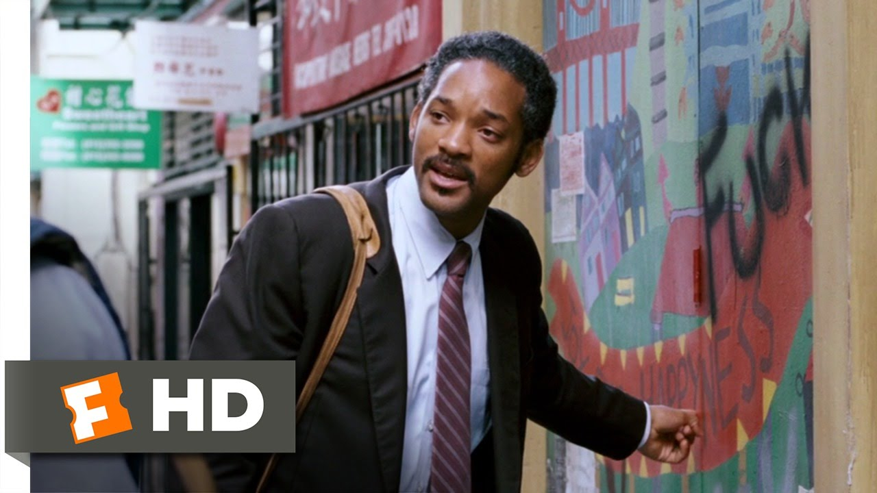 a pursuit of happiness a movie Will smith and his son, jaden smith, in the pursuit of happyness  for some, the fact that this is about poverty overcome and defeated will render the movie inauthentic or even mendacious i wonder.