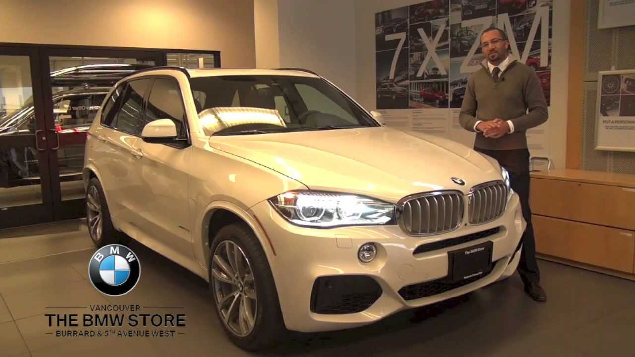 2014 Bmw X5 Xdrive50i The Bmw Store Vancouver Youtube