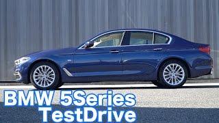 BMW新型5シリーズ試乗(523d Luxury)
