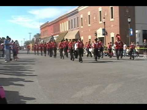 2010 Warrensburg Middle School 8th Grade Band - Parade