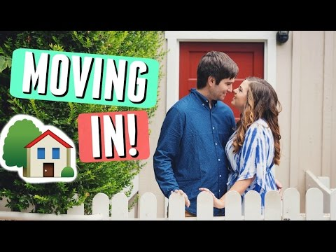 MOVING INTO MY NEW APARTMENT! BOYFRIEND + GIRLFRIEND MOVE IN DAY VLOG!