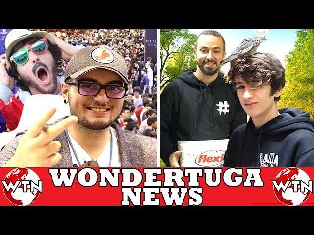 SirKazzio recusa tirar foto com fãs?! Miguel Alves e Tiagovski têm animal novo! Rezendeevil