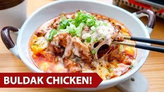 How to make Buldak Fire Chicken!