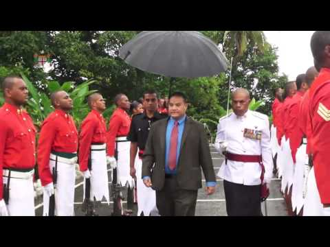 Fijian President receives credentials from Tuvaluan High Commissioner