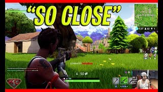 So Close! (Fortnite Battle Royale Gameplay PC XBOX PS4)