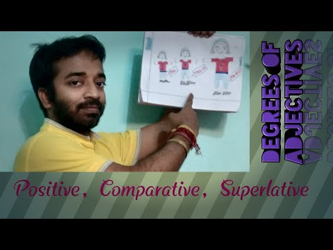 Degrees of Adjectives | Degree Of Adjective Rules | Degree Of Comparison | Adjectives | Grammar |