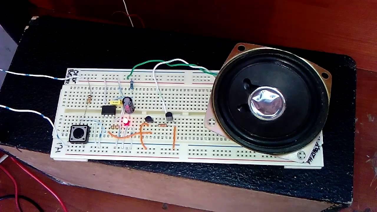 Um66 Melody Circuit 3 Youtube Ne555 Electronics Projects Circuits Premium