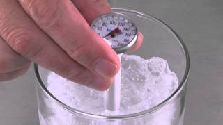 How To Calibrate a Dial Thermometer