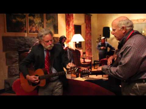 Bob Weir at Fountain Valley School of Colorado Warming up with Hal Clifford