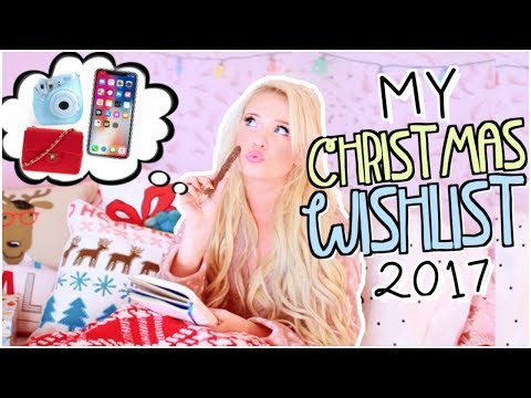 Christmas Wishlist 2017!