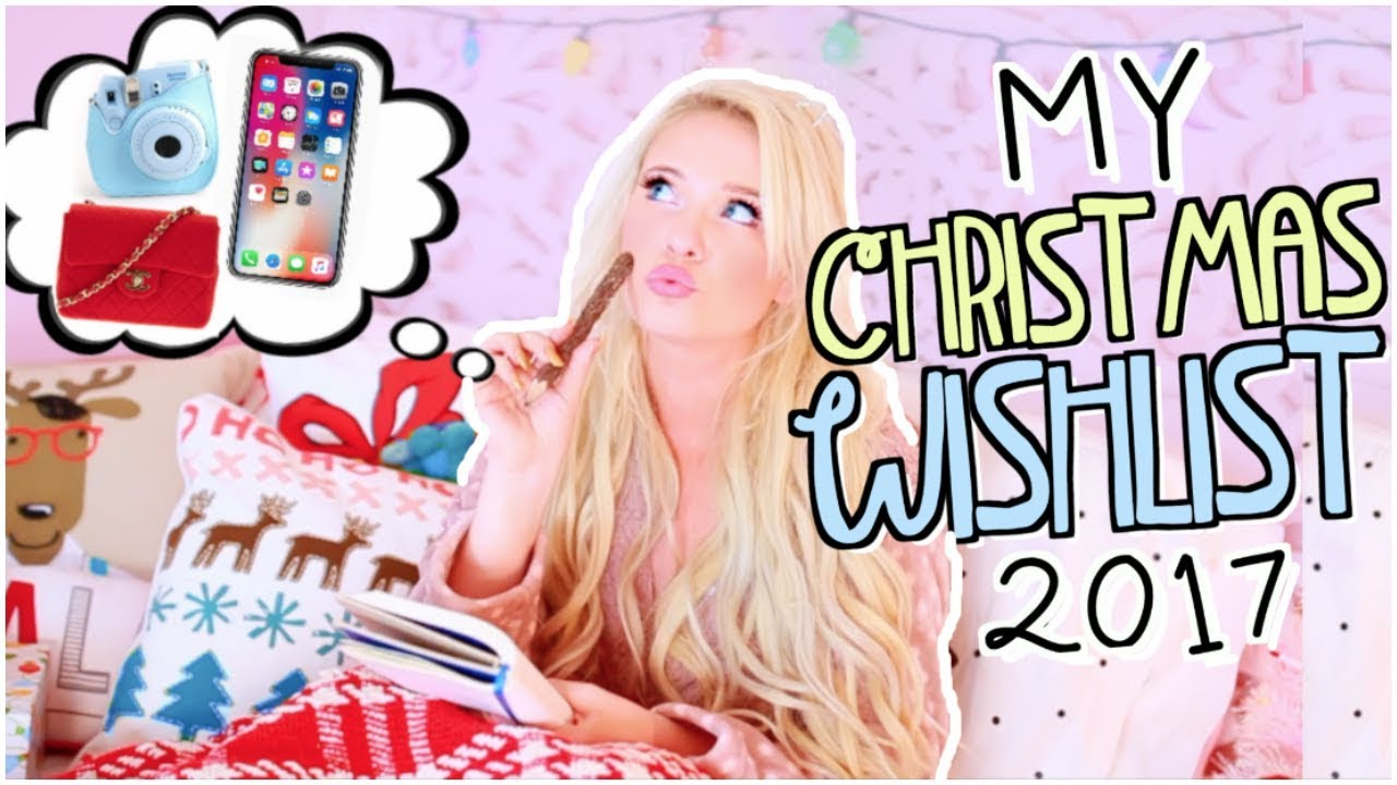 Christmas Wishlist 2017! Teen Gift Guide & Ideas - YouTube