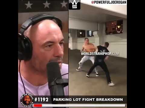 Clint August - Joe Rogan response on a street fight! Careful...language!