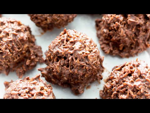How To Make Chocolate Coconut Cluster