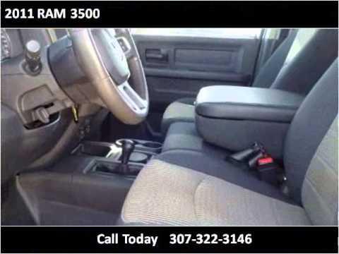 2011 Ram 3500 Used Cars Cheyenne Wy Youtube