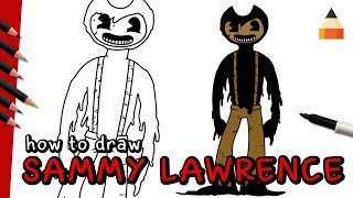 How To Draw Sammy Lawrence | Bendy and the Ink Machine