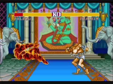 Street Fighter II-Dhalsim's Yoga Fire