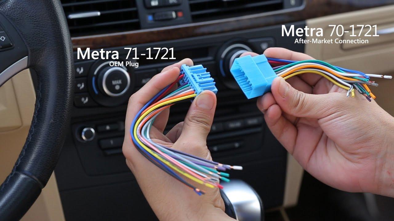 Metra 70 vs. 71 Wiring Harness - Differences Explained - YouTube on stereo cable, stereo wiring adapter, auto stereo harness, seat belt harness, stereo wiring kit,