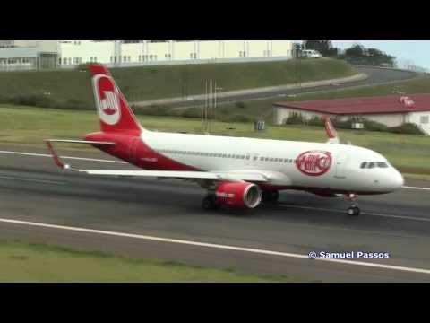 New wings A320 ((Sharklets)) Niki New Livery || Madeira