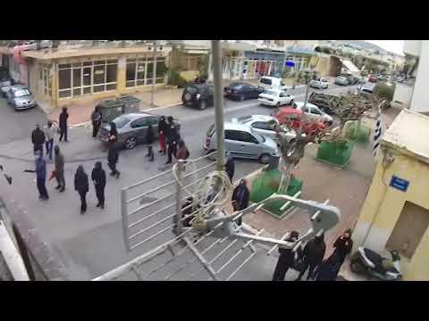 Η ισοπέδωση των τελευταίων γραφείων των φασιστών της Χρυσής Αυγής στην Κρήτη