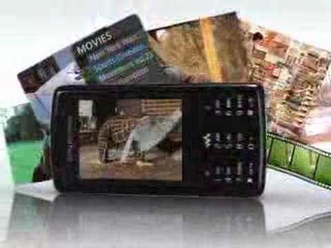 Sony Ericsson W960i Demo Tour